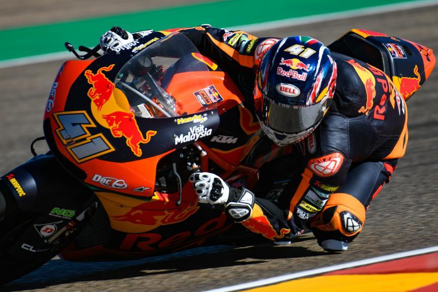 Brad Binder, Red Bull KTM Ajo, Aragón Moto2 & Moto3 Official Test