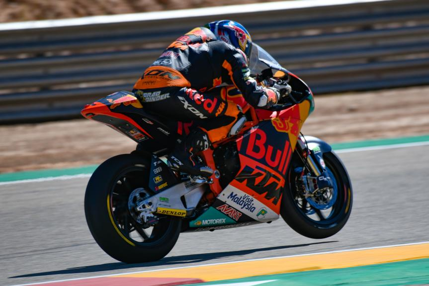 Brad Binder, Red Bull KTM Ajo, Aragón Moto2 & Moto3 Official Test