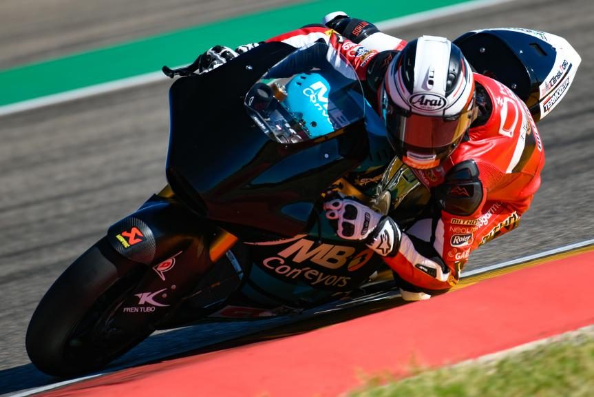 Edgar Pons, HDR-Speed Up Racing, Aragón Moto2 & Moto3 Official Test