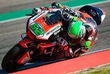 Stefano Manzi, Forward Racing Team, Aragón Moto2 & Moto3 Official Test