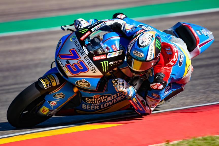 Alex Marquez, Eg 0,0 Marc VDS, Aragón Moto2 & Moto3 Official Test