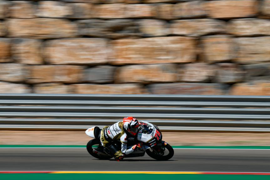 Albert Arenas, Angel Nieto Team Moto3, Aragón Moto2 & Moto3 Official Test