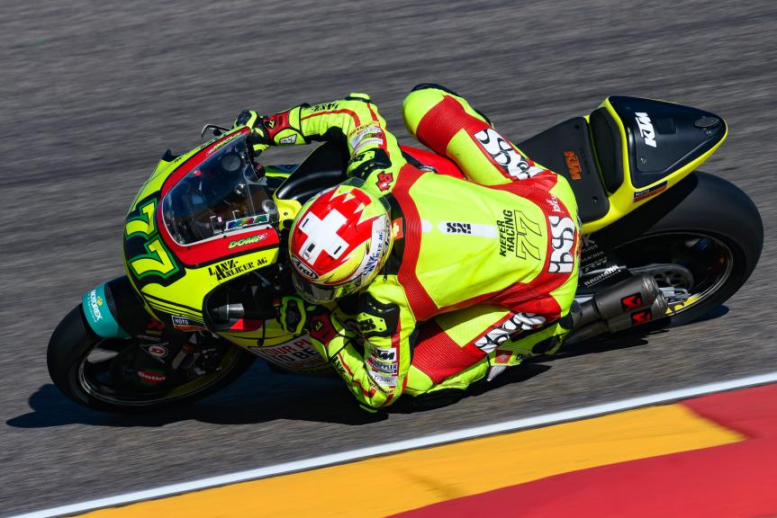 Dominique Aegerter, Kiefer Racing, Aragón Moto2 & Moto3 Official Test