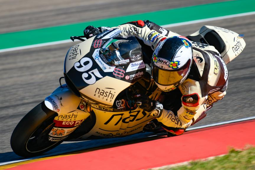 Jules Danilo, Nashi Argan SAG Team, Aragón Moto2 & Moto3 Official Test