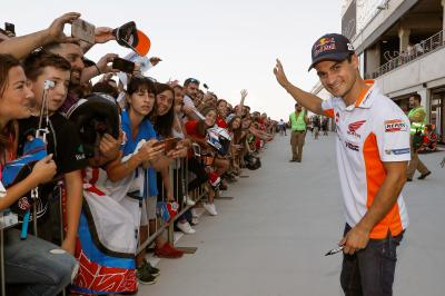 It's all about the fans! Thanks for coming to Aragon!