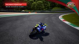 Challenge #6 for the MotoGP™ eSport Championship saw players competing at the Autodromo del Mugello on-board Valentino Rossi's Movistar Yamaha YZR-M1