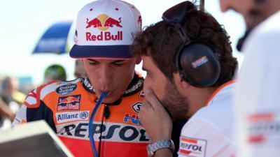 Warum wählte Marquez im letzten Moment den weichen Reifen?