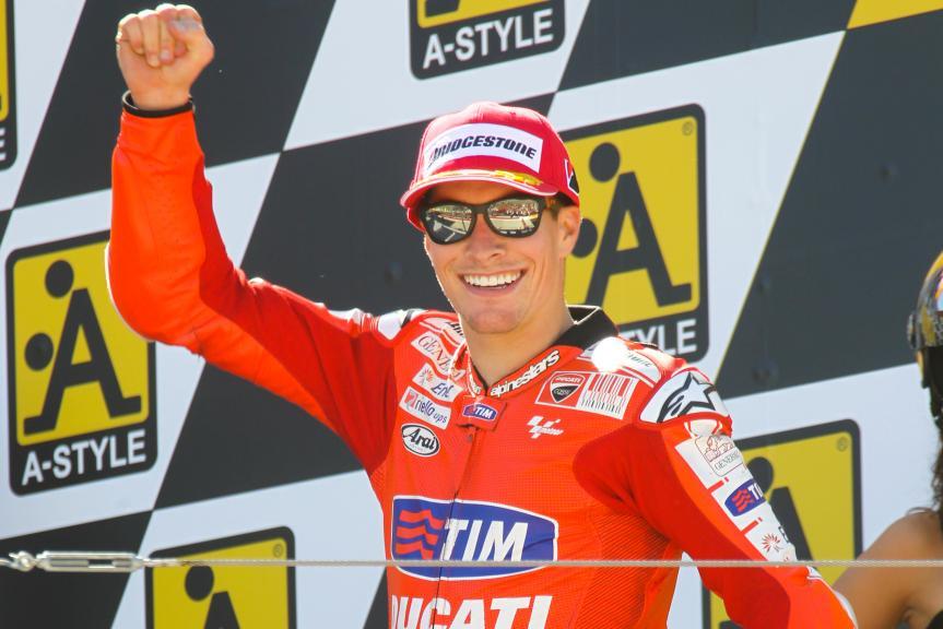 Nicky Hayden, Aragon, 2010