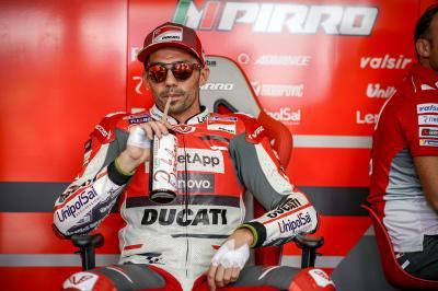 Pirro porta in pista la Ducati 2019