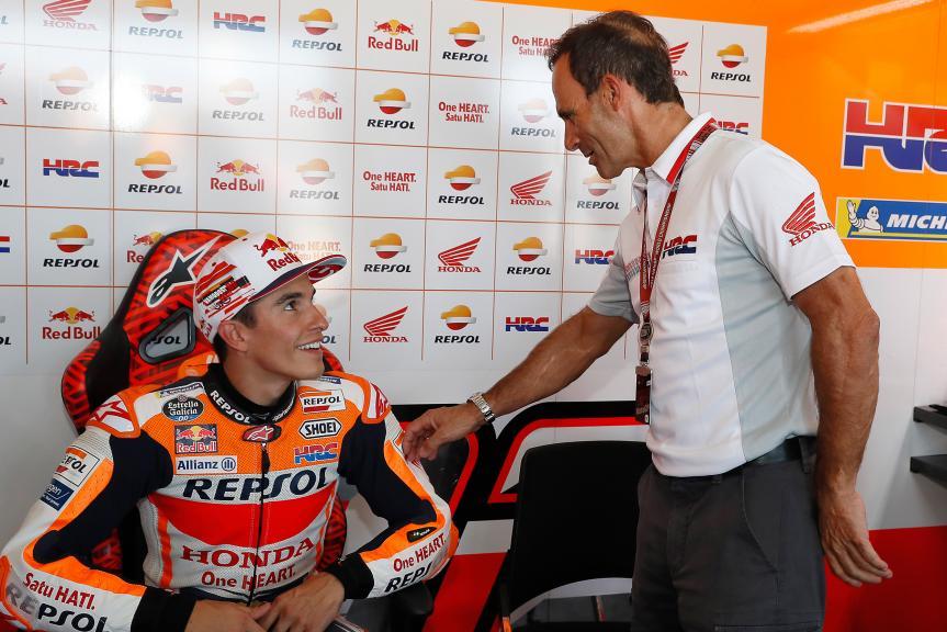Albertu Puig, Marc Marquez, Repsol Honda Team