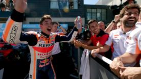 After all the excitement at MotorLand, celebrations were in full swing! Live all the joy with the teams in this previously unseen footage