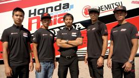 Meet the Idemitsu Honda Team Asia and hear from their team manager about building a strong team and coaching Asian riders