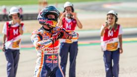 Take a look at some of the more light-hearted moments on track, in the paddock and behind the scenes from MotorLand Aragón