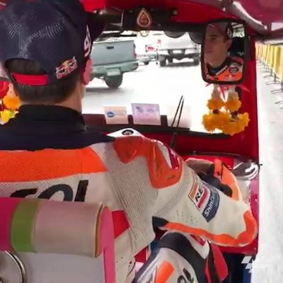 Jump onboard with Marc Márquez as the #MotoGP Champ takes