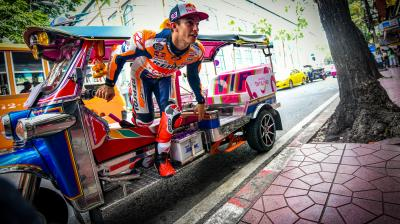 De Bangkok à Buriram : L'arrivée très remarquée de Márquez
