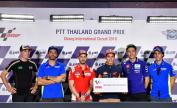 Press-Conference, PTT Thailand Grand Prix