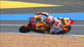 The Repsol Honda rider explains how he pushes to be faster and faster when racing at a brand new circuit