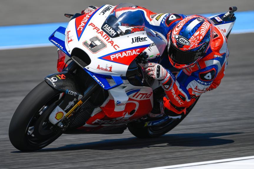 Danilo Petrucci, Alma Pramac Racing, PTT Thailand Grand Prix