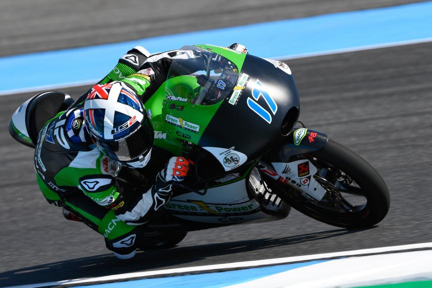 John Mcphee, CIP - Green Power, PTT Thailand Grand Prix