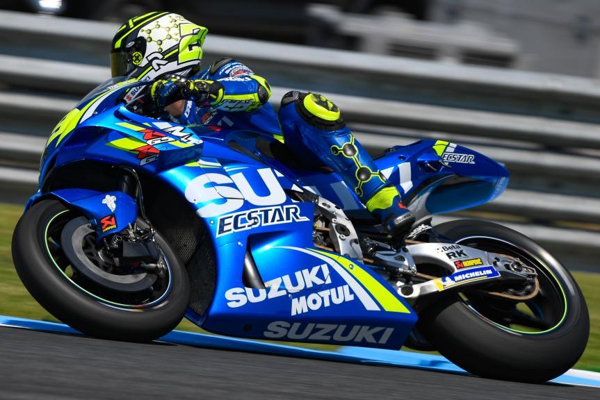 Andrea Iannone, Team Suzuki Ecstar, PTT Thailand Grand Prix