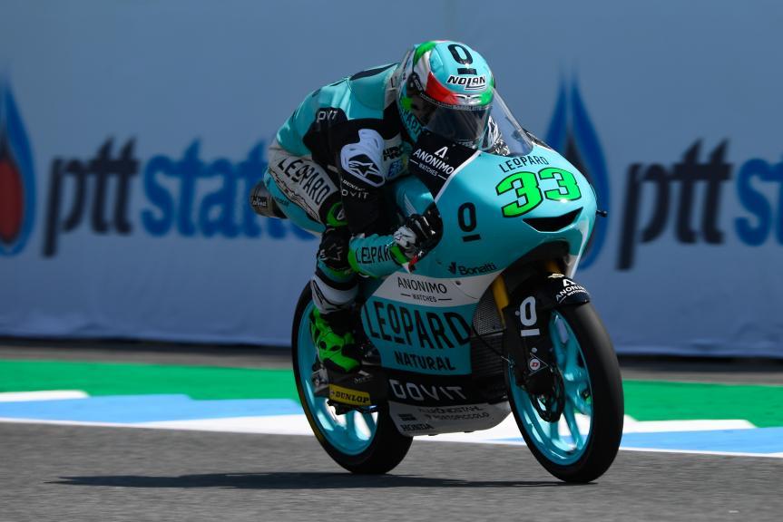 Enea Bastianini, Leopard Racing, PTT Thailand Grand Prix