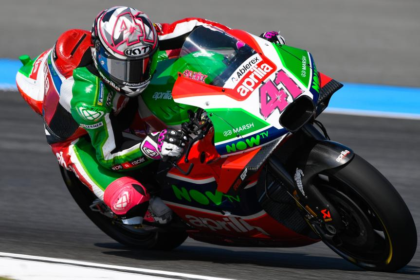 Aleix Espargaro, Aprilia Racing Team Gresini, PTT Thailand Grand Prix
