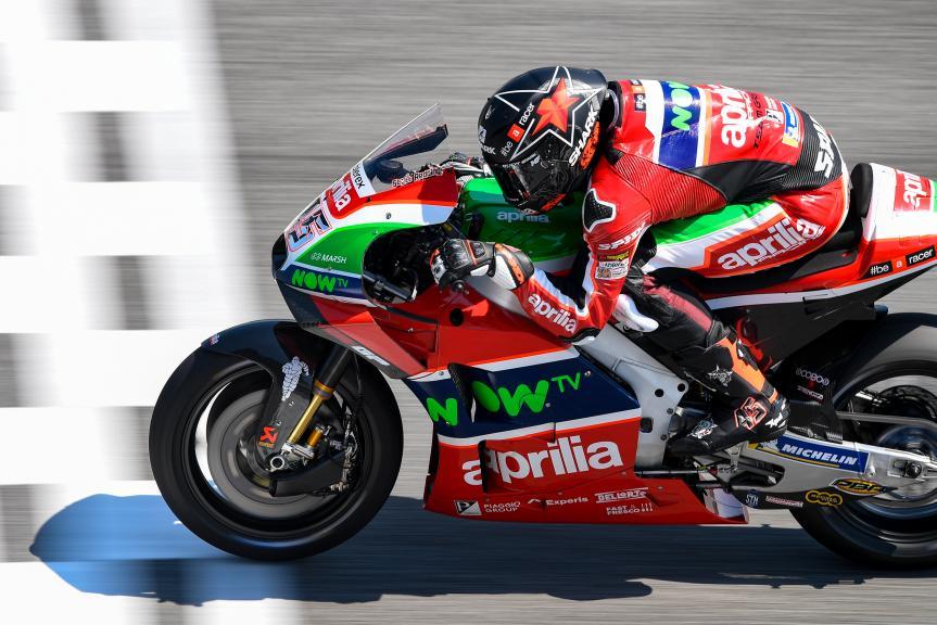 Scott Redding, Aprilia Racing Team Gresini, PTT Thailand Grand Prix