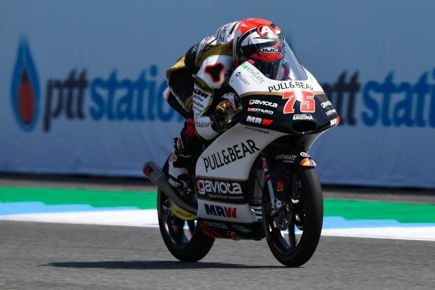 Albert Arenas, Angel Nieto Team Moto3, PTT Thailand Grand Prix