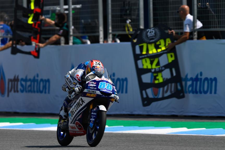 Jorge Martin, Del Conca Gresini Moto3, PTT Thailand Grand Prix