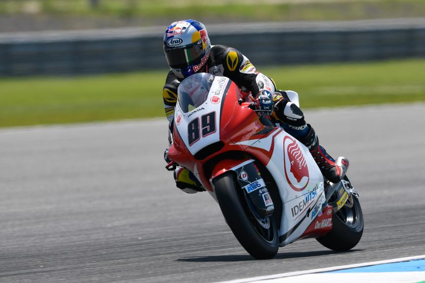 Khairul Idham Pawi, Idemitsu Honda Team Asia, PTT Thailand Grand Prix