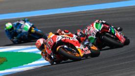 Revivez la deuxième séance d'essais libres en MotoGP™, du GP PTT de Thaïlande.