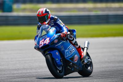 Perfect start for Pasini as Moto2™ gets going in Buriram
