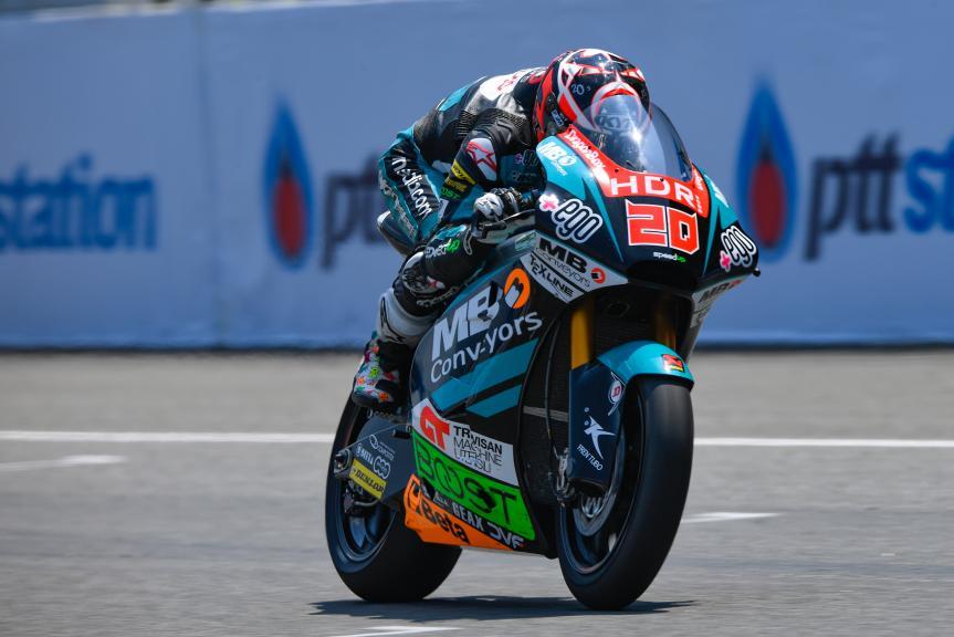 Fabio Quartararo, HDR-Speed Up Racing, PTT Thailand Grand Prix