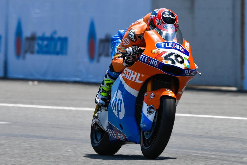 Augusto Fernandez, Pons HP40, PTT Thailand Grand Prix