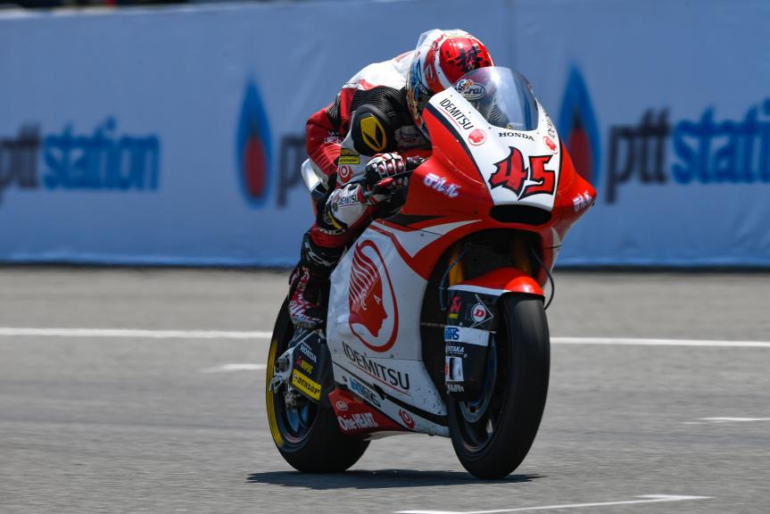 Tetsuta Nagashima, Idemitsu Honda Team Asia, PTT Thailand Grand Prix