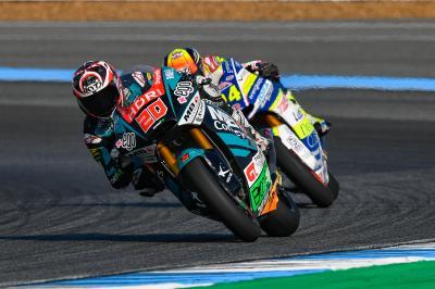Quartararo heads Marquez, Pasini on Saturday morning