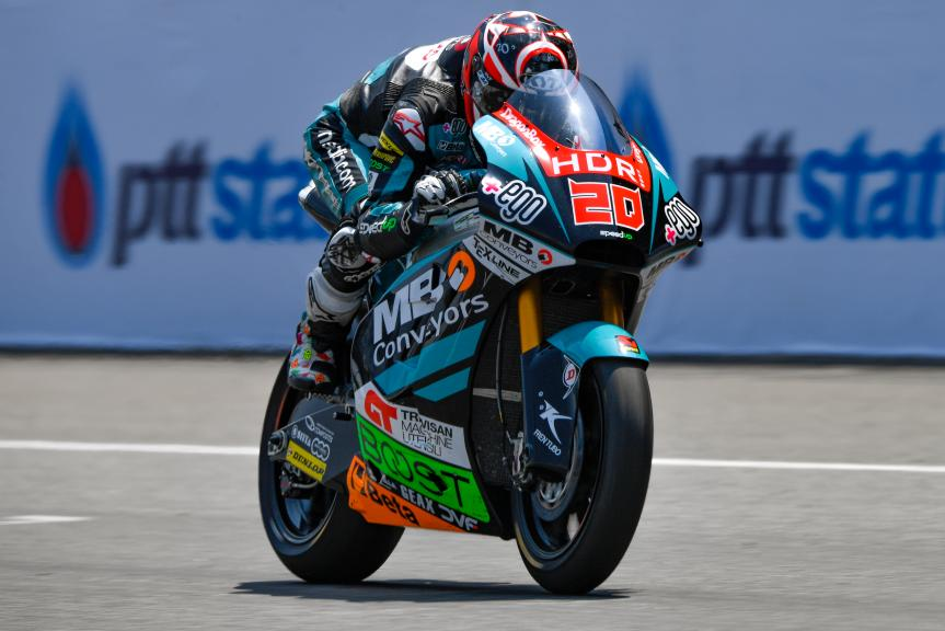 Fabio Quartararo, HDR-Speed Up Racing, PTT Thailand Grand Prix