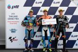 Lorenzo Baldassarri, Alex Marquez, Luca Marini, Pons HP40, PTT Thailand Grand Prix