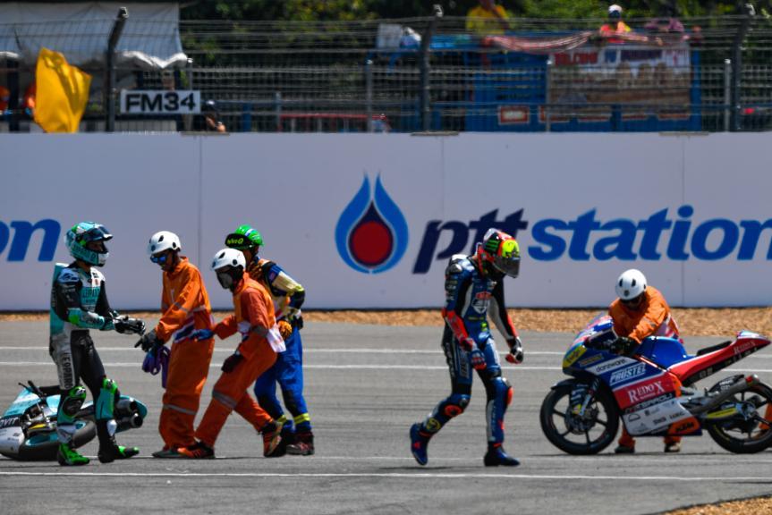 Marco Bezzecchi, Pruestelgp, Enea Bastianini, Leopard Racing, PTT Thailand Grand Prix