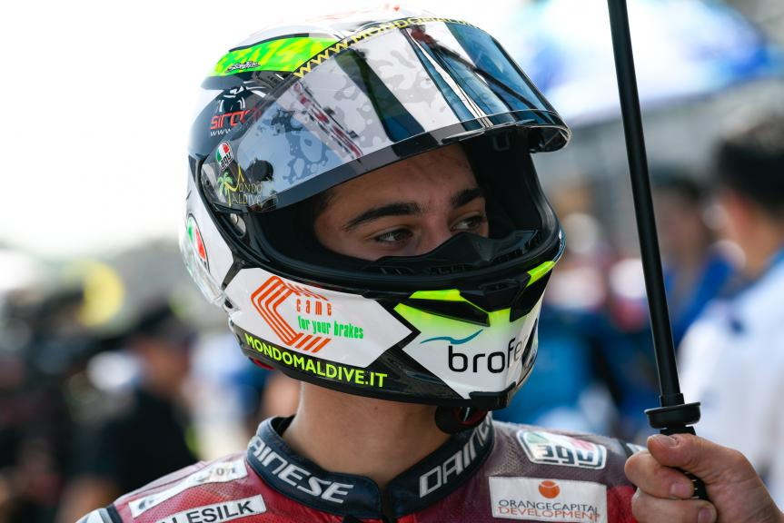 Tony Arbolino, Marinelli Snipers Team, PTT Thailand Grand Prix