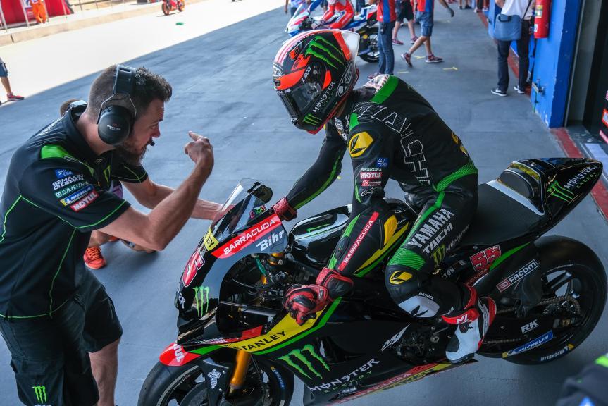 Hafizh Syahrin, Monster Yamaha Tech 3, PTT Thailand Grand Prix
