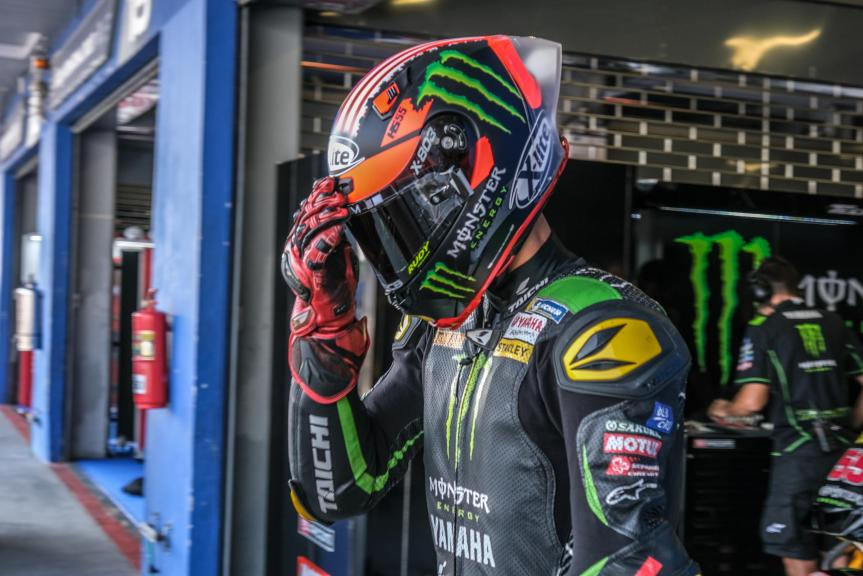 Hafizh Syahrin, Monster Yamaha Tech 3, PTT Thailand Grand Prix