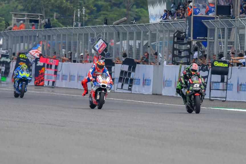 Johann Zarco, Monster Yamaha Tech 3, Jack Miller, Alma Pramac Racing, PTT Thailand Grand Prix
