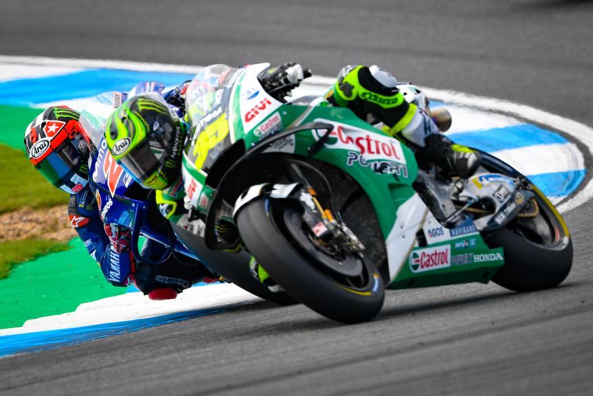 Cal Crutchlow, LCR Honda Castrol, Maverick Viñales, Movistar Yamaha MotoGP, PTT Thailand Grand Prix