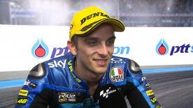 今季4度目の表彰台となる2位を獲得した決勝レースを振り返る。