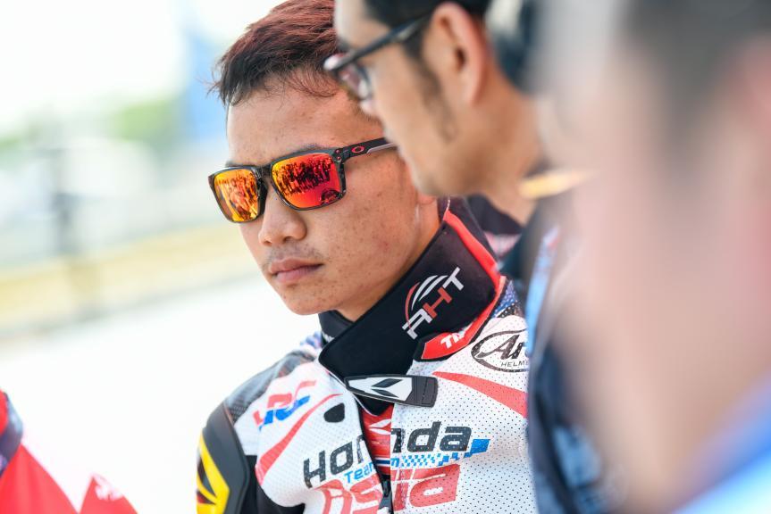 Nakarin Atiratphuvapat, Honda Team Asia, PTT Thailand Grand Prix