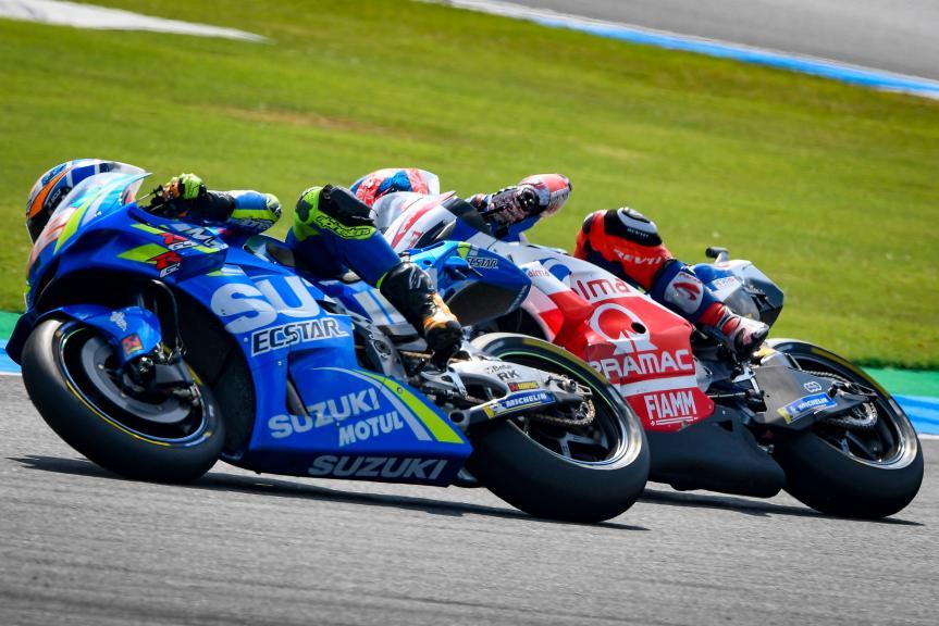 Alex Rins, Team Suzuki Ecstar, Jack Miller, Alma Pramac Racing, PTT Thailand Grand Prix