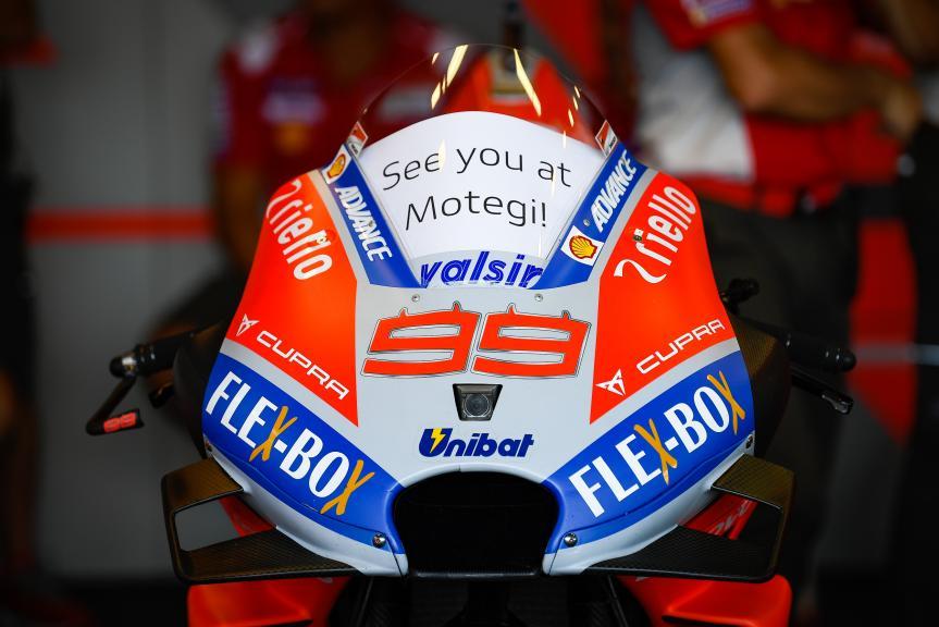 Jorge Lorenzo, Ducati Team, PTT Thailand Grand Prix