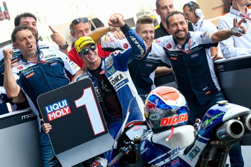 Fabio Di Giannantonio, Del Conca Gresini Moto3, PTT Thailand Grand Prix