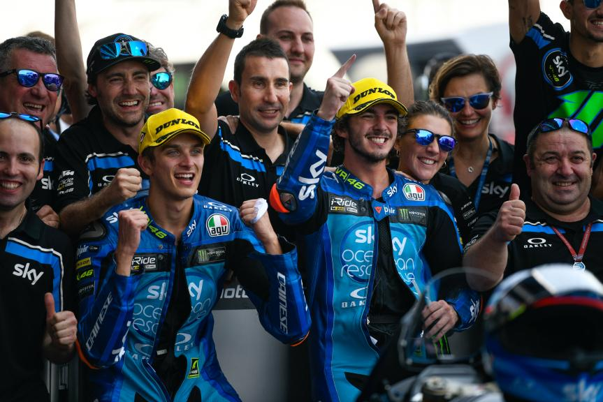 Francesco Bagnaia, Luca Marini, Sky Racing Team VR46, PTT Thailand Grand Prix